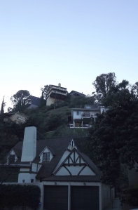Hillside homes in Laurel Canyon