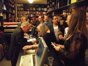 Author Sonny Donato signing books